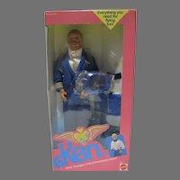 Mattel NRFB Flight Time Ken Gift Set, 1989