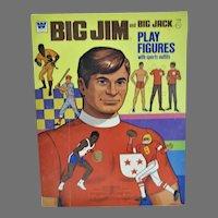 Mint, Un-Cut BIg Jim and Big Jack Paper Dolls, 1976