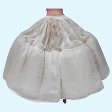 Vintage Madame Alexander Elise Full Length Petticoat, 1950's