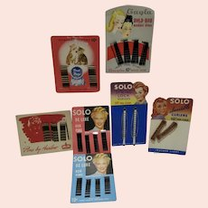 Vintage Lot of Ladies Hair Accessories MOC, 1940's-1950's