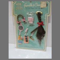 HTF NRFB Mattel Francie & Casey Hair-Do's Pak Set, 1968