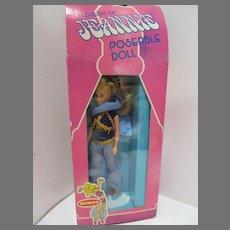 "Vintage Remco NRFB 6"" I Dream of Jeannie Doll, 1977"