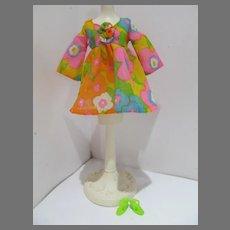 Vintage Mattel Barbie Outfit Flower Wower, MINT, 1970