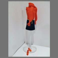 VIntage Mattel Barbie Outfit, Shift Into Knit, 1969