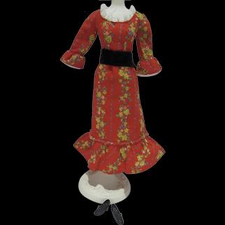 Vintage Mattel Barbie Outfit Pleasantly Peasanty, 1972, Complete