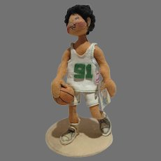 Vintage Annalee Basketball Player, 1994 w/Tag