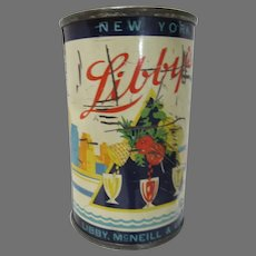 1939 New York World's Fair Libby's Treasure Ship Tin Bank