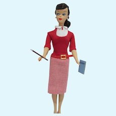 Mattel Barbie Student Teacher Repro Doll in Outfit, 2009