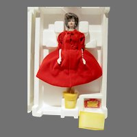 Silken Flame Porcelain Barbie, Mattel, 1993, NRFB