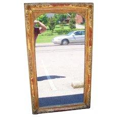 Elegant Lemon giltwood Louis XVI style mirror