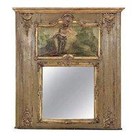 18th Century Louis XVI Period Trumeau Mirror