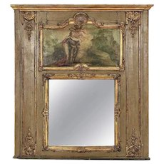 18th Century Louis XVI Period Trumeau Mirror