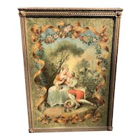 Louis XV Style Rococo Large Painting in Manner of Boucher
