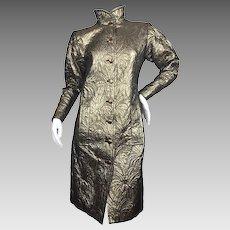 Exceptional Vintage Yves Saint Laurent Evening Coat. 1970's.