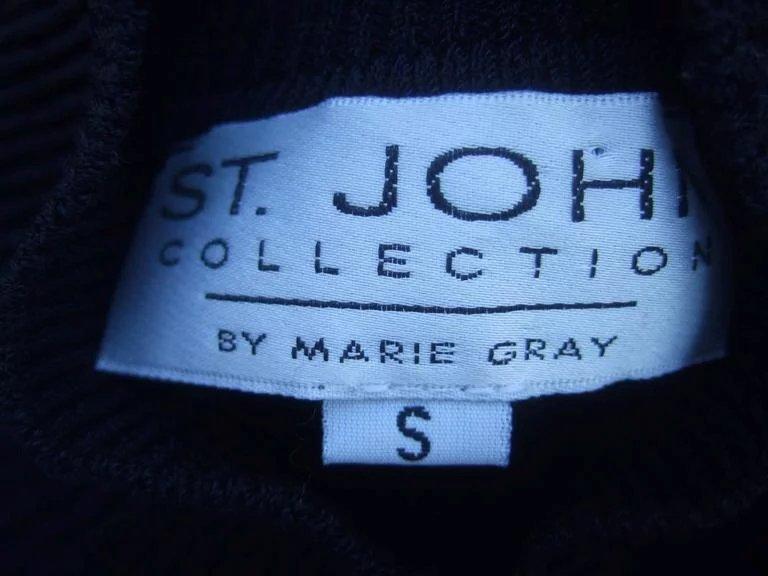 St. John Charming Penguin Wool Knit Sweater. 1990's ... - photo#33
