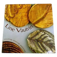 Line Vautrin Jewelry and Arts Rare Collectible Book.