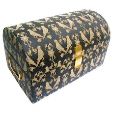 Neiman Marcus Italian Vintage Brocaded Box. Velvet Lined.