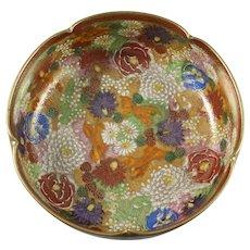Japanese Satsuma Mille Fleur 1000 Flowers Bowl
