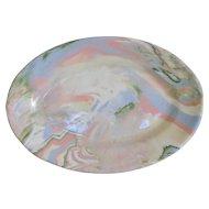Buffalo China Mulifleure Oval Serving Side Plate