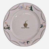 Syracuse China Hotel Bond Dinner Plate