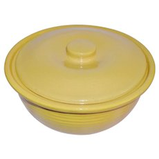 Bauer Ring Ware Covered Casserole with Lid