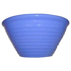 Bauer Ring Ware Delft Blue Mixing Bowl