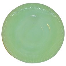 Anchor Hocking Fire King Jadeite Saucers (2)
