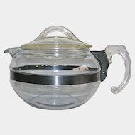 1940's Pyrex Flameware Tea Pot
