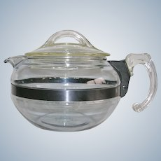 1940's Pyrex Flameware Tea Pot