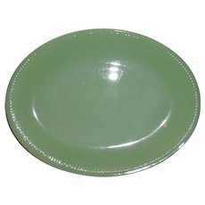 Fire King Jadeite Jane Ray Platter