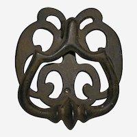 Rustic Hand Wrought & Cast Iron Door Knocker