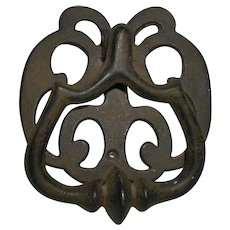 Rustic Hand Wrought & Cast Iron Door Knocker