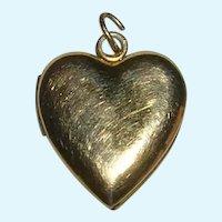 Vintage and Discreet 12K GF Heart Locket