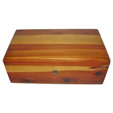 Lane Cedar Keepsake box