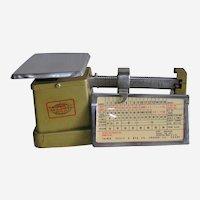 1970's Era Postal Letter Scale Triner