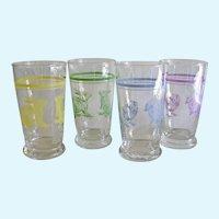 Libbey Glass Childrens Juice Glasses