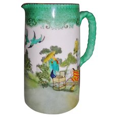 Royal Doulton Burslem Oriental Theme Jug Pitcher