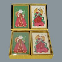 Holiday Theme Double Deck Congress Playing Cards
