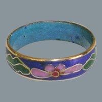 Colorful Enamel Flower Ring