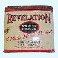 Revelation Pipe Tobacco Pocket Tin