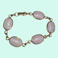 Sarah Coventry Faux Lace Agate Bracelet