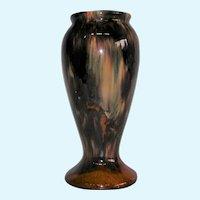 Brush McCoy Art Pottery Onyx Drip Glaze Vase #745