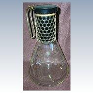 Retro 1960's Corning Pyrex Coffee Pot/Beverage Server/Decanter
