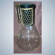 Retro 1960's Corning Pyrex Coffee Pot/Beverage Server/Decanter