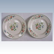 Vintage Syracuse China Old Ivory Butter Plates