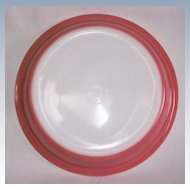 """Retro Pink Pyrex 9"""" Pie Plate"""