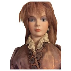 Vintage Artist Doll painted by Frances Reedy and costumed by Helen Kramer