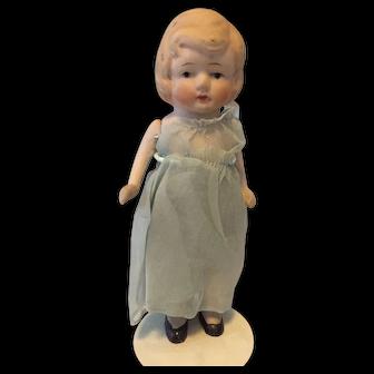 Vintage Japanese Bisque Doll