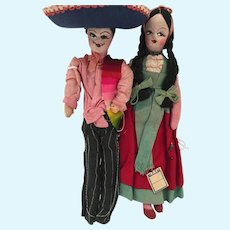 """Mexican Cloth Pair 8"""""""