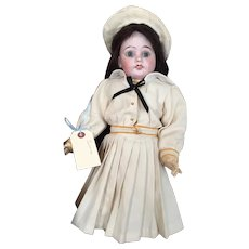 "20"" Beautiful French Doll by unknown maker from later period."